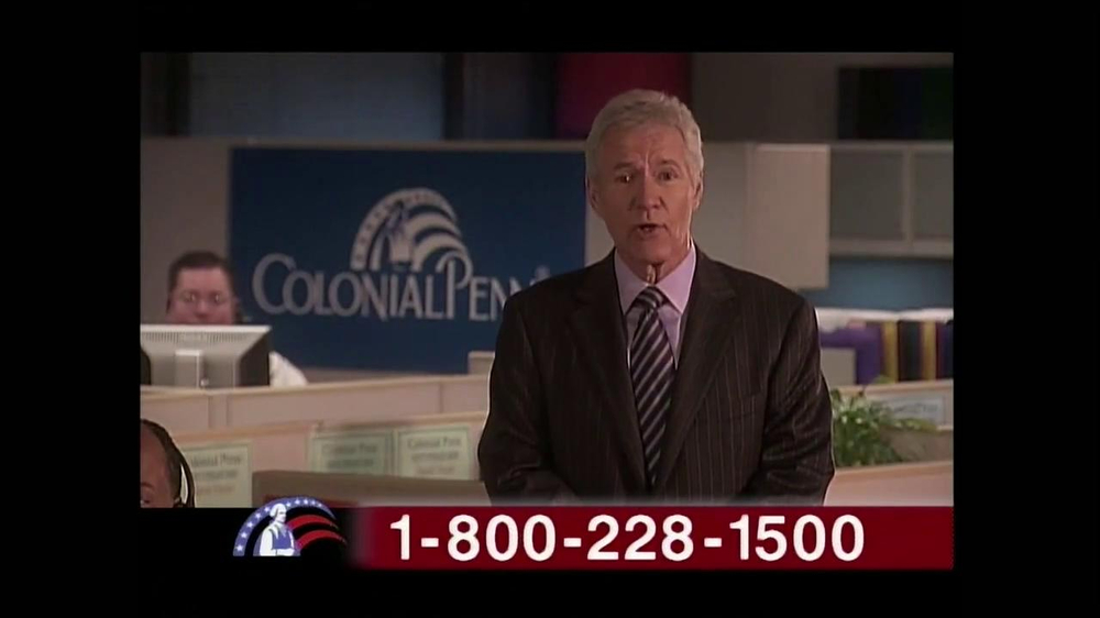 Colonial Penn TV Commercial 'Cubicles' Featuring Alex ...