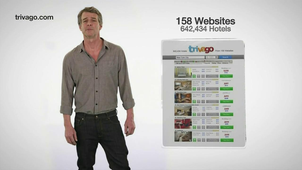 trivago TV Commercial. 'Compares Prices' - iSpot.tv