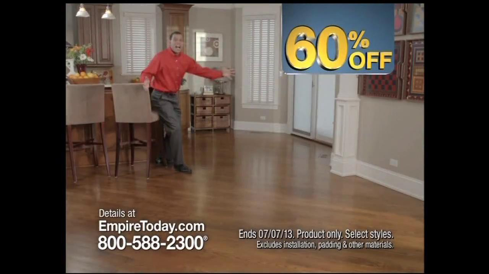 Empire Today 60 Off Sale TV Spot  iSpottv
