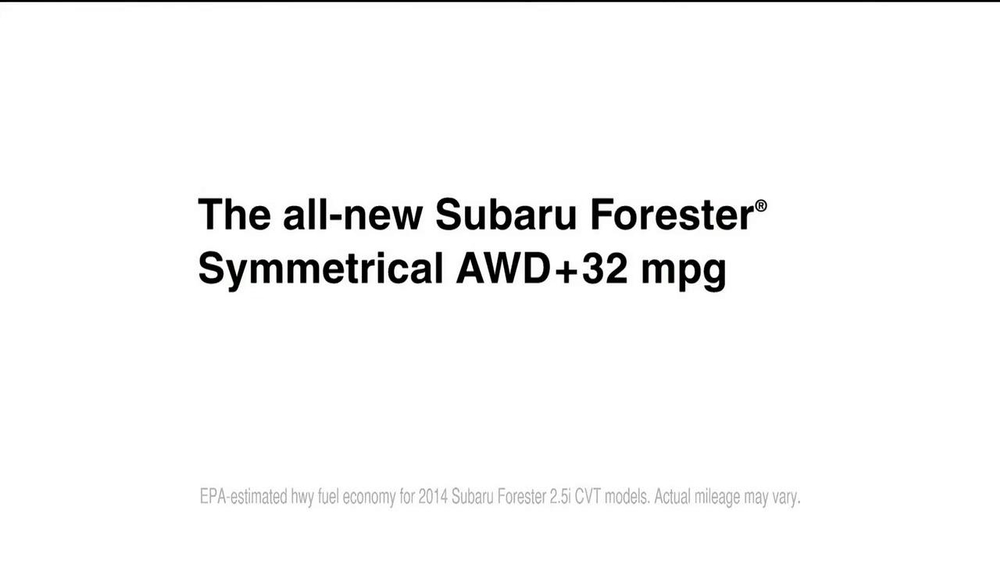 Subaru Forester TV Commercial, 'That New Subaru Smell