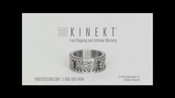 Kinekt Designs Gear Ring TV Spot iSpottv
