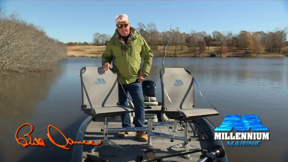 magellan fishing chair woven hanging millennium marine double seat tv commercial new ideas feat bill dance ispot
