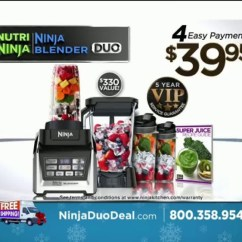 Ninja Kitchen Com Subway Tile For Nutri Blender Duo Tv Commercial 2016 Holiday Special Ispot