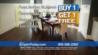 Empire Today Buy One Get One Free Sale TV Commercial ...