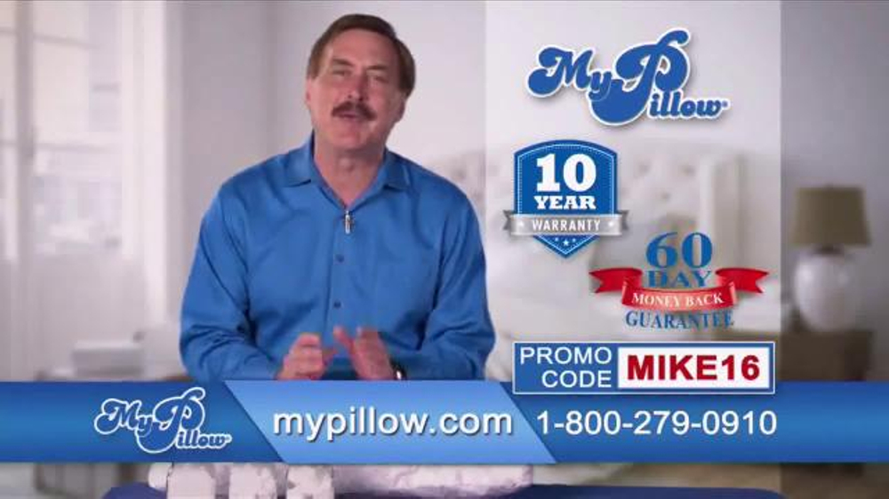 my pillow tv commercial buy one get one free