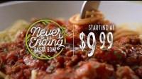 Olive Garden Never Ending Pasta Bowl TV Commercial, 'It's ...