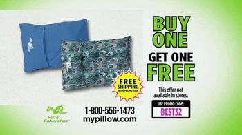 my pillow roll goanywhere tv commercial best day ever