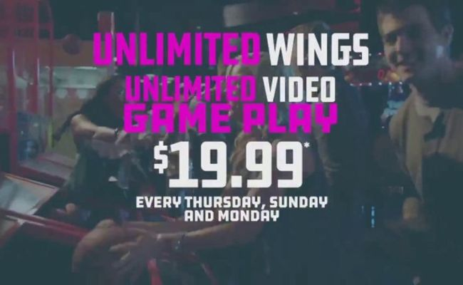 Dave And Buster S Unlimited Video Game Play Unlimited
