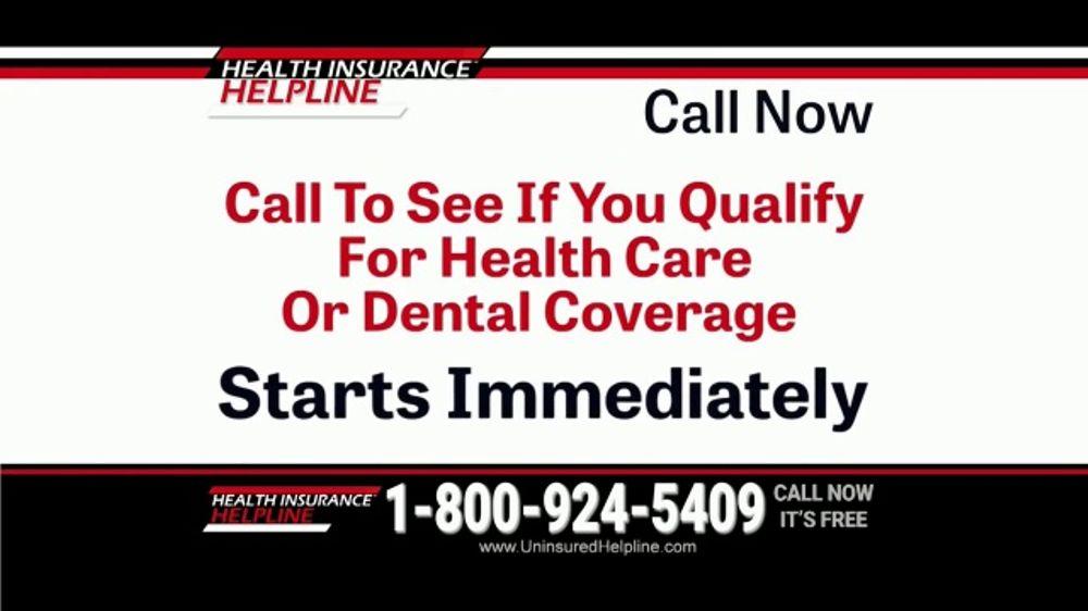 Health Insurance Helpline TV Commercial 'Immediate Relief ...