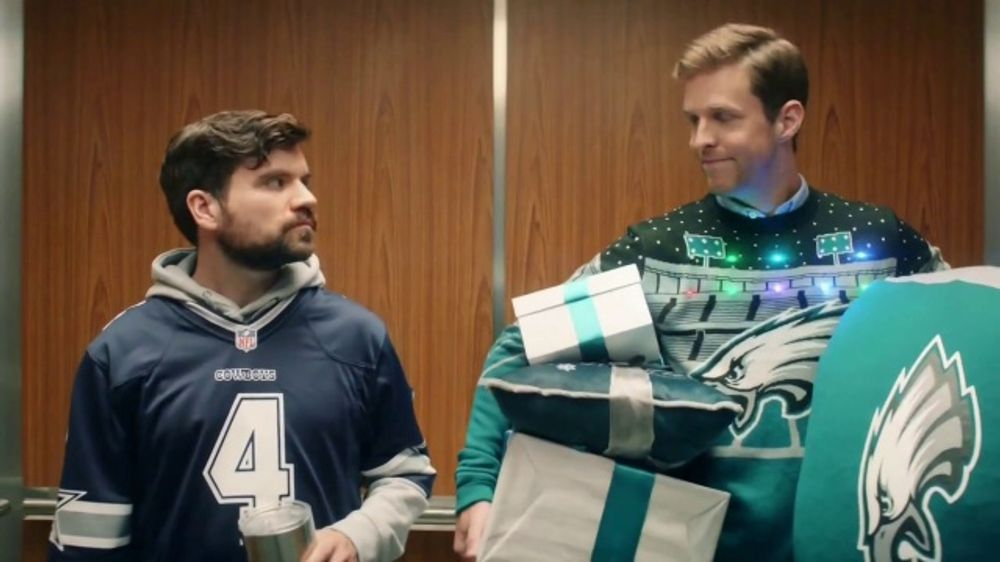 NFL Shop TV Commercial Elevator  iSpottv