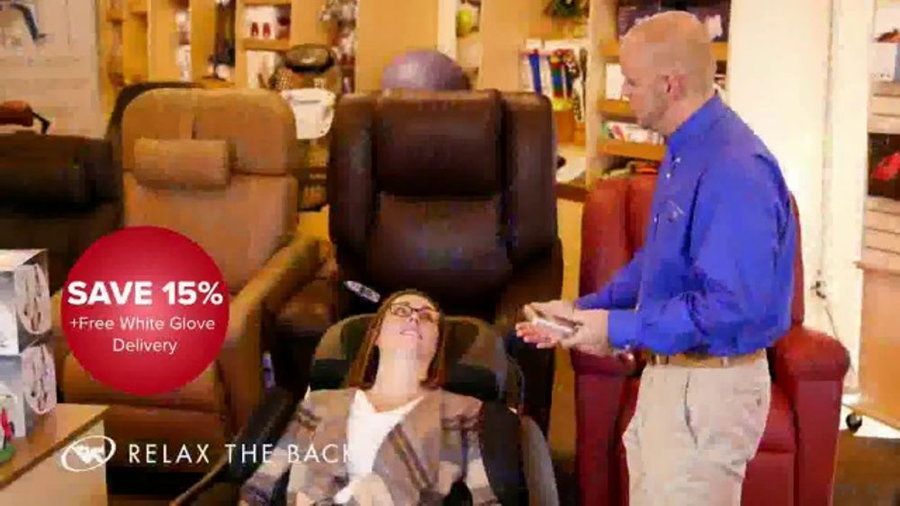 relax the back chair for sale armless chaise lounge best of year tv commercial live well give