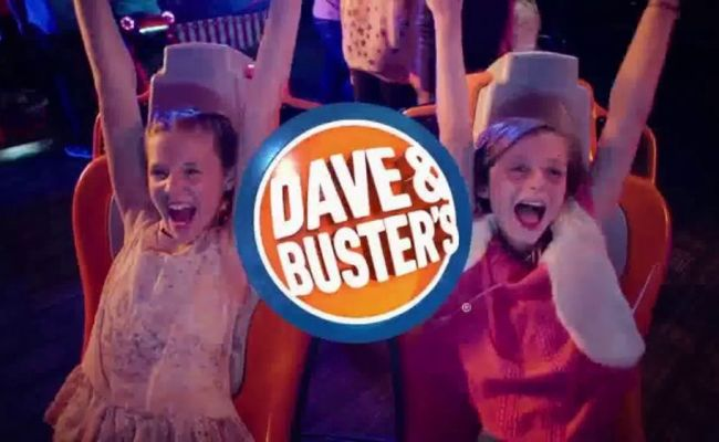 Dave And Buster S Tv Commercial Half Price Games All