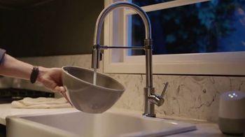 delta faucet voice iq technology tv commercial command your kitchen