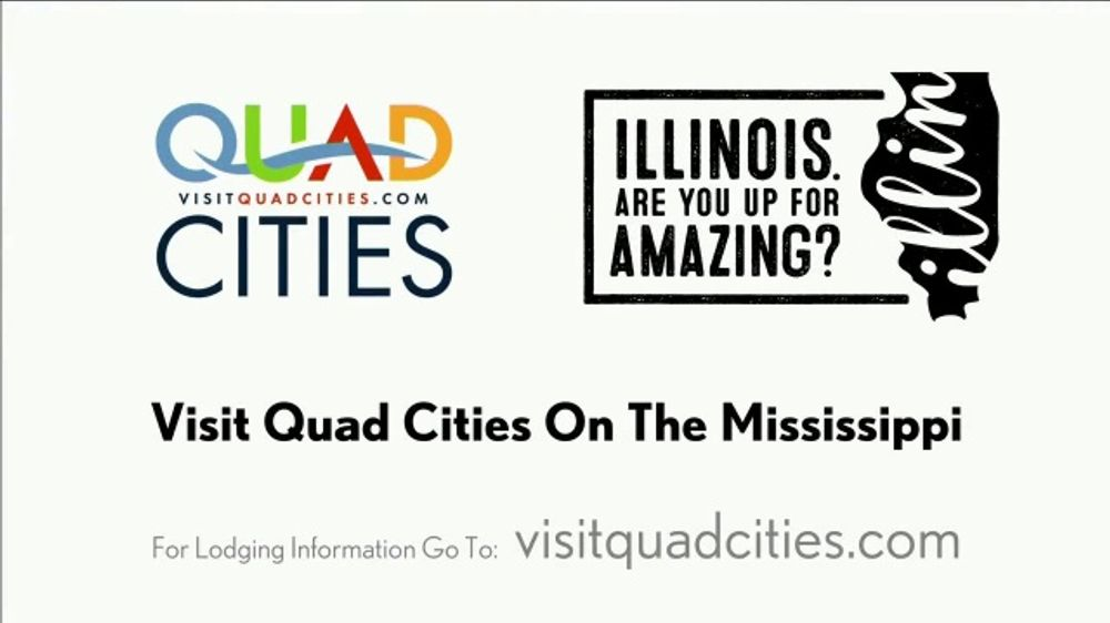 Visit Quad Cities TV Commercial, 'Visit Quad Cities on the