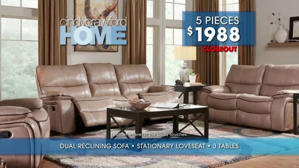 Rooms to Go Summer Sale and Clearance TV Commercial Cindy Crawford Home Pieces  iSpottv