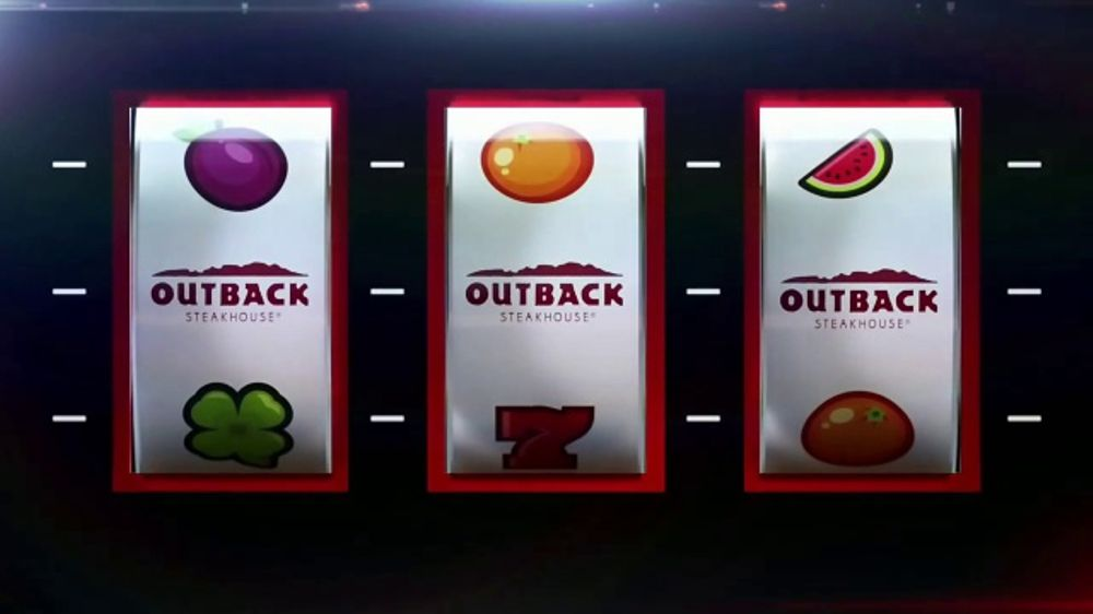 Outback Steakhouse Aussie 4 Course Meal TV Commercial. 'Slot Machine' - iSpot.tv
