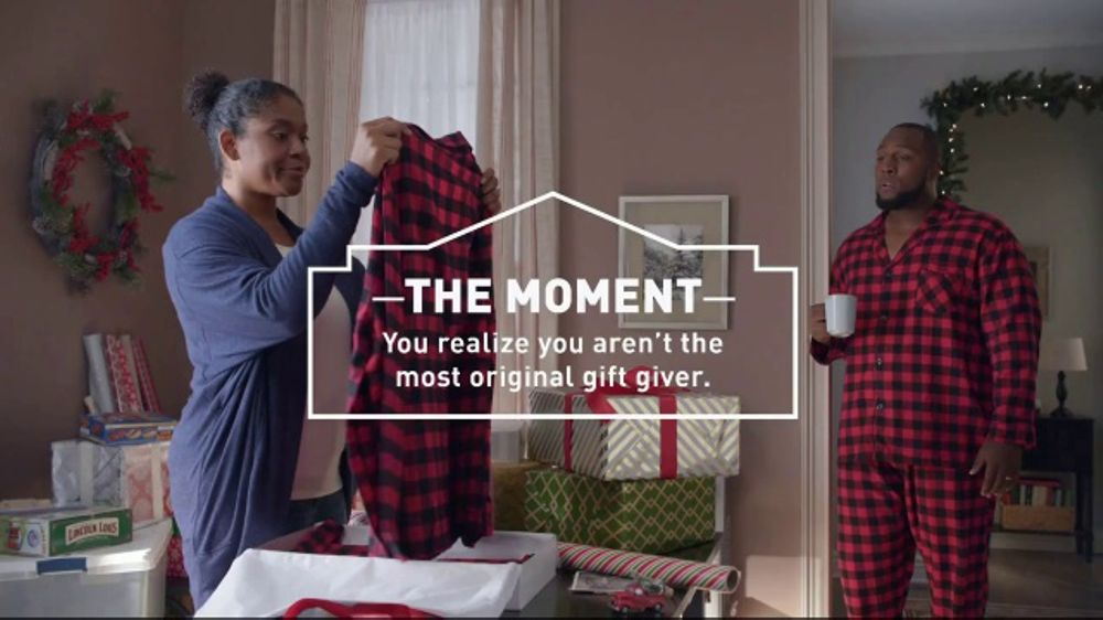 Lowes TV Commercial The Moment Gift Giver  iSpottv