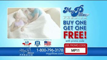 my pillow premium tv commercial better night s sleep buy one get one free