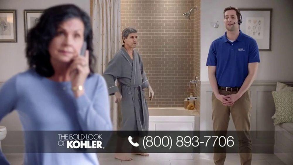 Kohler TV Commercial Calling on Ken Nightlight Seat