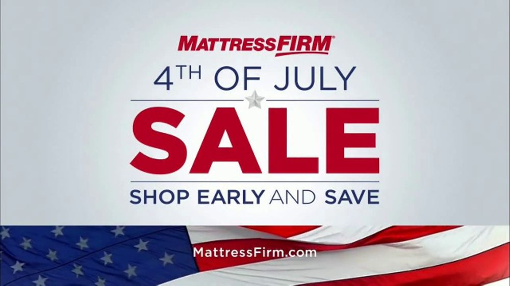 Mattress Firm Fourth of July Sale TV Commercial Love Your Mattress Guaranteed  iSpottv