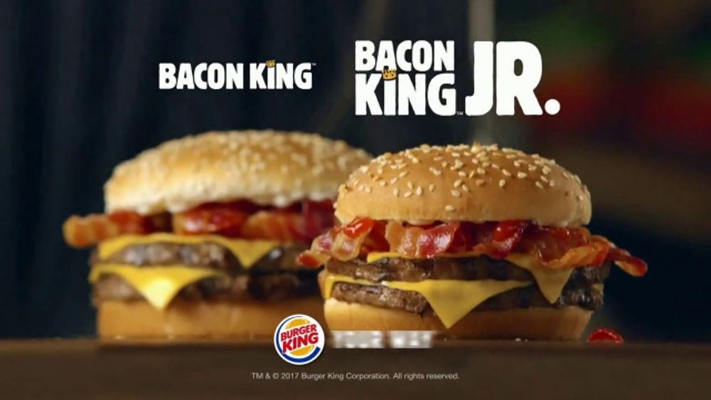 Burger King Bacon King Jr TV Commercial Packs the Big
