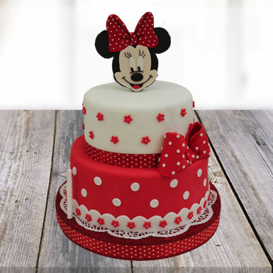 Minnie Mouse Cartoon Cake Winni