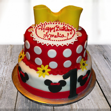 Minnie Mouse Birthday Cake Winni
