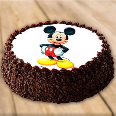 Mickey Mouse Blackforest Cake Winni