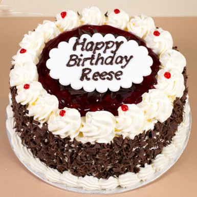 Black Forest Birthday Cake Winni