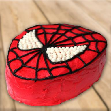 Luscious Spiderman Cake Winni