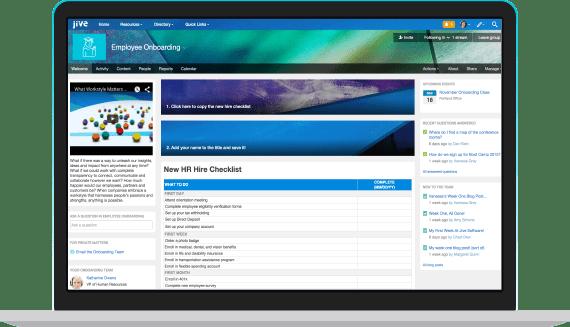 Social Intranet Solutions  Interactive Platform  Jive