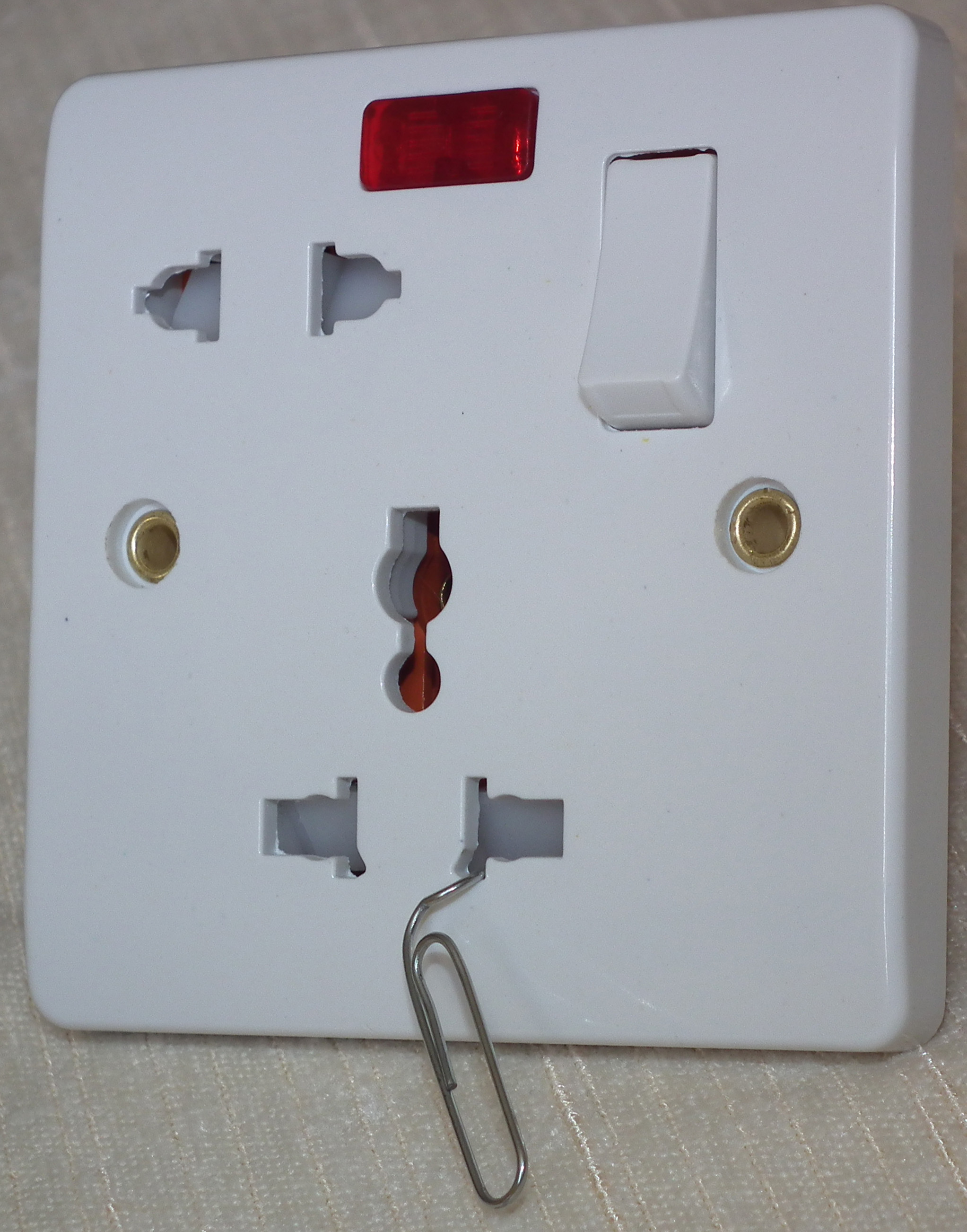 Wiring 4 Outlet Plug