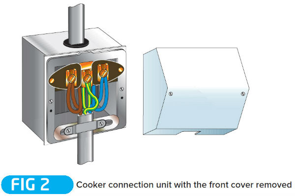 one way switch wiring diagram uk home electrical software technical guide: installing a cooker circuit