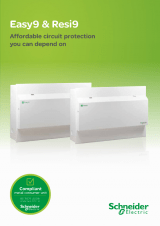 schneider ict 25a contactor wiring diagram keyboard usb electric product catalogue easy9 resi9 brochure 2015
