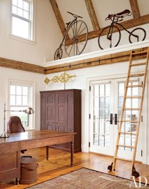 Rustic Library Ladder