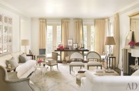 Traditional Living Room by Suzanne Kasler Interiors by