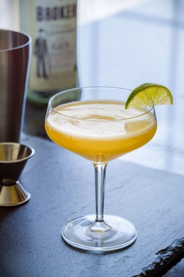 Sunrise Blue Martini