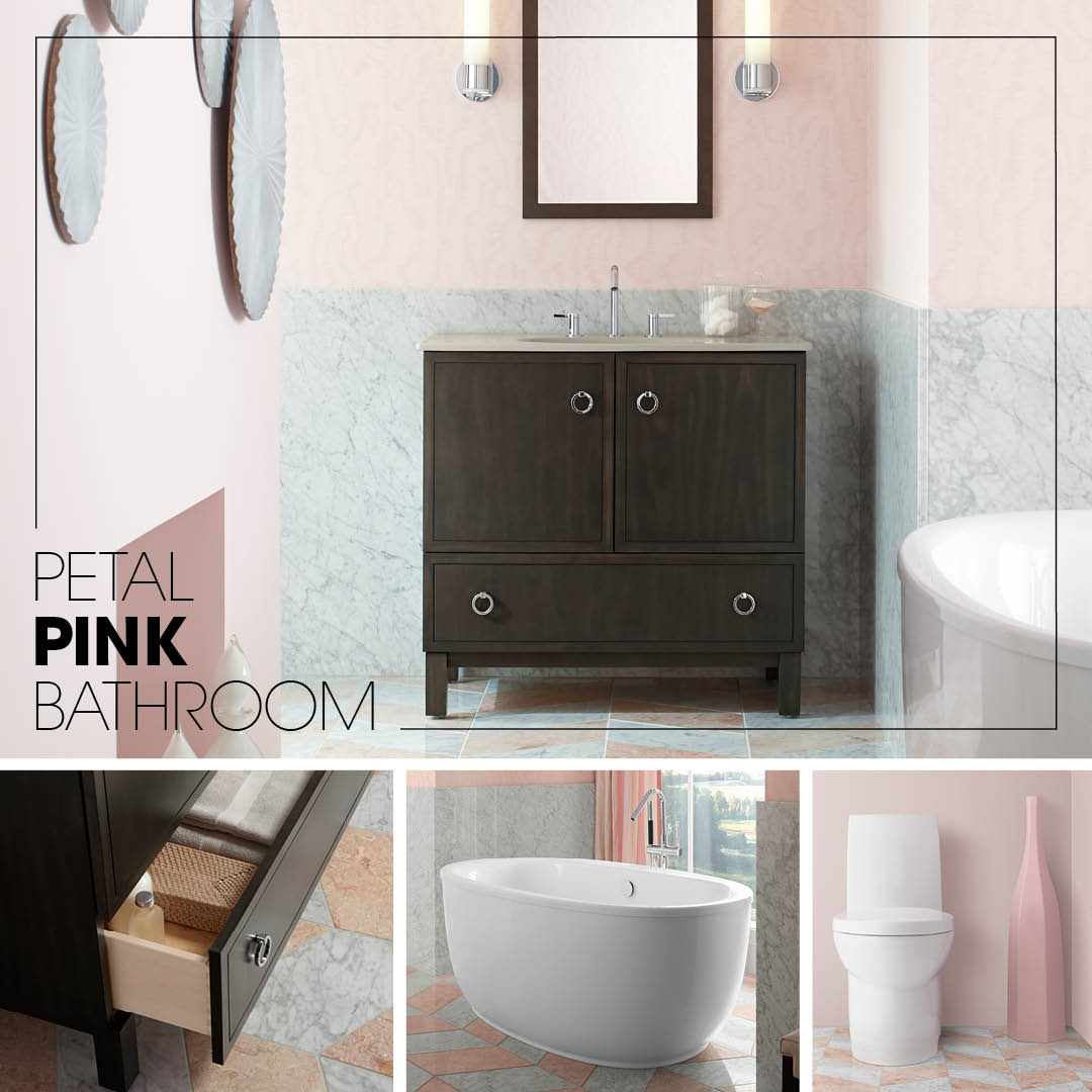 Petal Pink Bathroom  Kohler Ideas