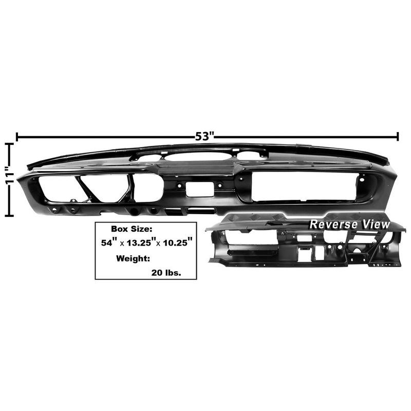 1965 Mustang Dynacorn Steel Dash Panel Assy