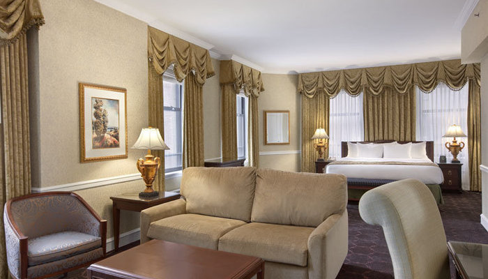 sofa sleeper chicago bed sheets target family rooms - the drake hotel