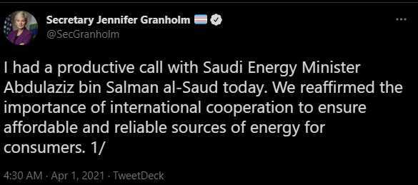 Urgent: What does the United States want from Saudi Arabia, the results of the OPEC + meeting?
