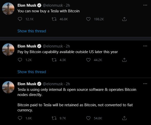 Urgent: Elon Musk detonates a surprise over Bitcoin