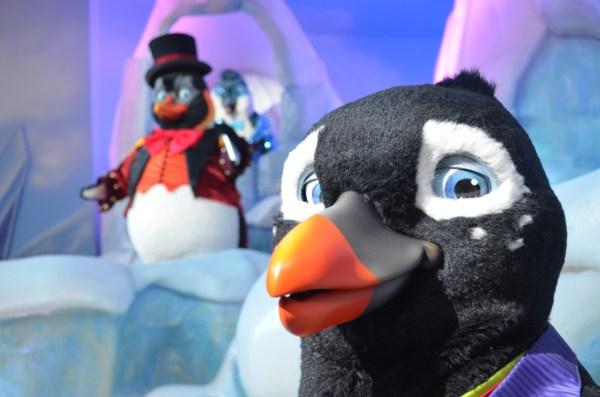 "Sally Corporation Creates Animatronic ""penguins Parade"