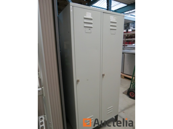 armoire vestiaire metallique 2 portes