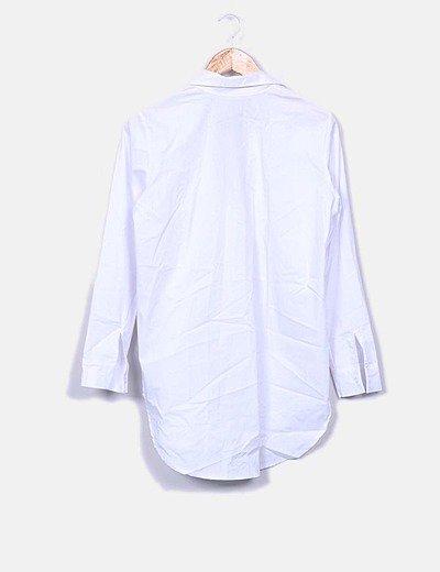 The desire shop Camisa oversize blanca (descuento 29 %) - Micolet
