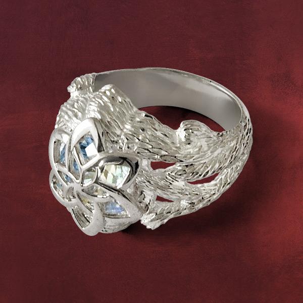 Herr der Ringe  Nenya  Galadriels Ring Silber 925 Originalschmuck aus dem Film  eBay