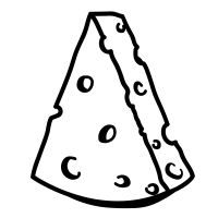 Cheesewedge icons Noun Project