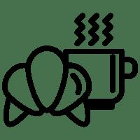 breakfast icons colazione vector