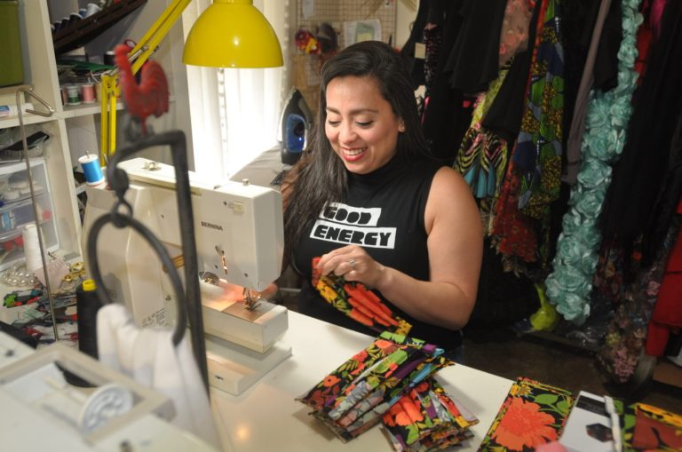 Valley fashion designer makes face masks for healthcare workers – The Monitor
