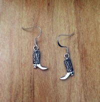 Cowboy Boot Earrings  Country Wind  Online Store Powered ...